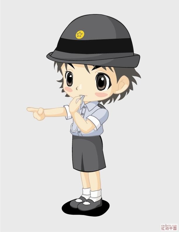 q版日本漫画人物