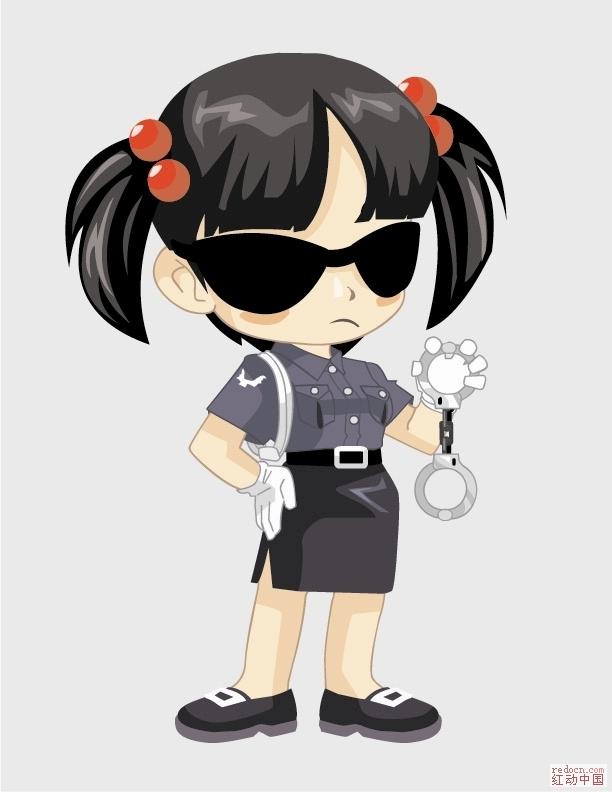 日本动漫人物画法图片 带有图片的详细的讲解动漫人物