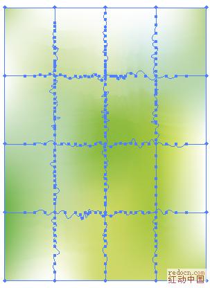 AI中这样的网格怎么做设计疑难 红动知道