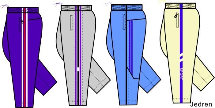 coreldraw教程:绘制裤子造型