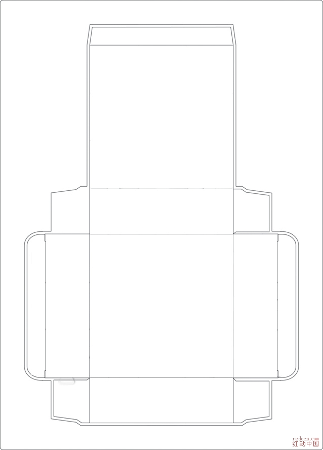 求助纸盒结构展开图设计疑难_红动知道 专业设计网