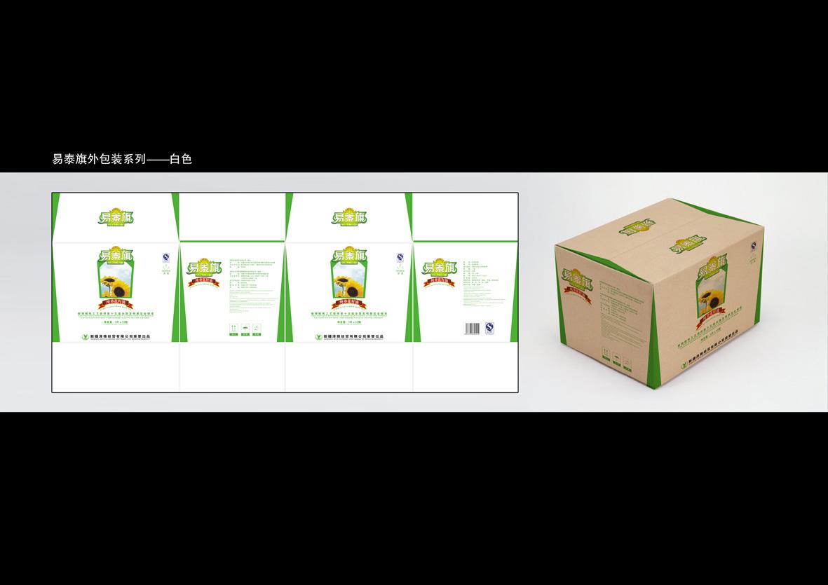 论坛首页 原创设计 包装 食品 03 食用油包装  外包装箱-白.