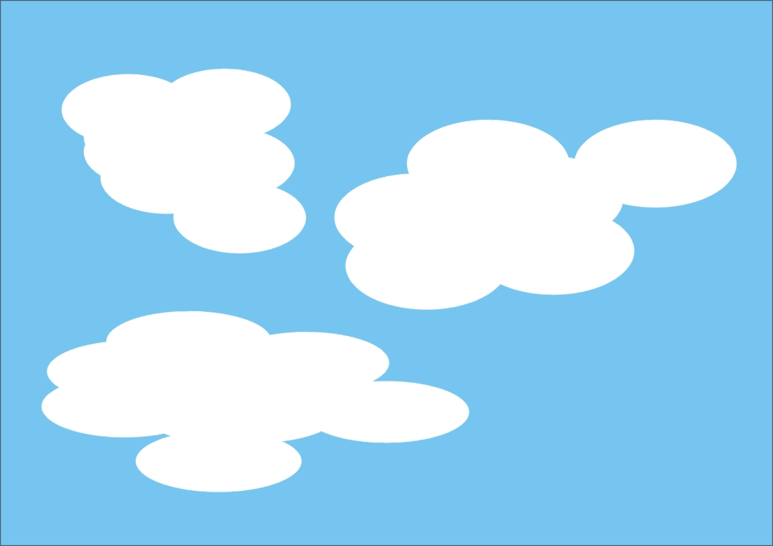 又快又好画云朵,漂亮实用哦