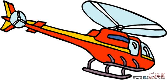 直升机战斗机矢量图ai格式