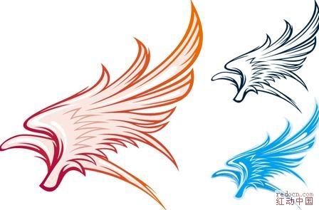 论坛首页 资讯娱乐 素材下载 矢量素材 03 [可爱翅膀]矢量花纹图案