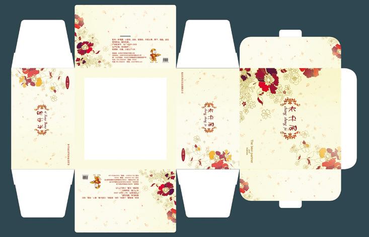 蛋糕包装设计图_ 包装盒子设计图
