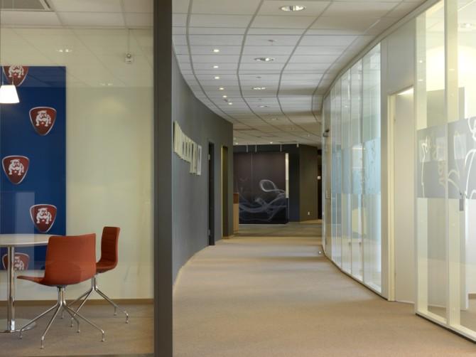 挪威奥斯陆奔驰汽车4S店室内和建筑欣赏图片高清图片