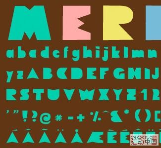 28款特别实用的英文字体 笔刷 PS小工具