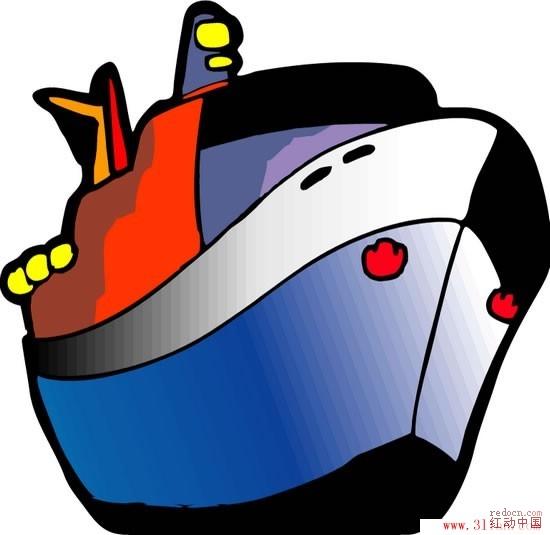 论坛首页 资讯娱乐 素材下载 矢量素材 03 轮船卡通精美