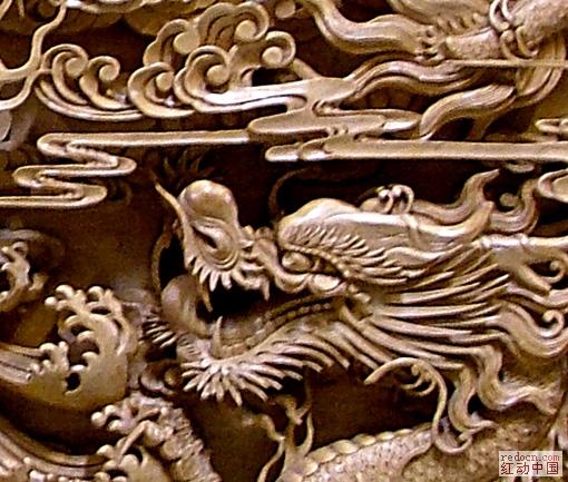 木雕龙壁 ★大气★-古代图案-古代类-稀有位图
