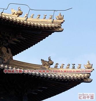 500币求中国古代建筑飞檐(燕尾造型)矢量图或像飞檐
