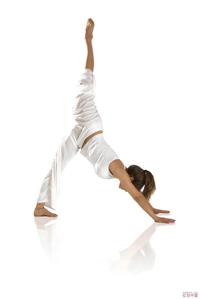 瑜伽主题高清图片素材