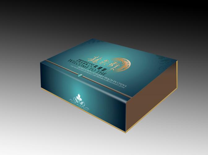 宣传礼盒土特产包装盒设计