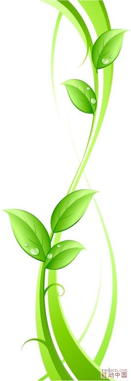 横版绿叶花边图片大全_绿叶花边_绿叶花边边框_鹊桥 .