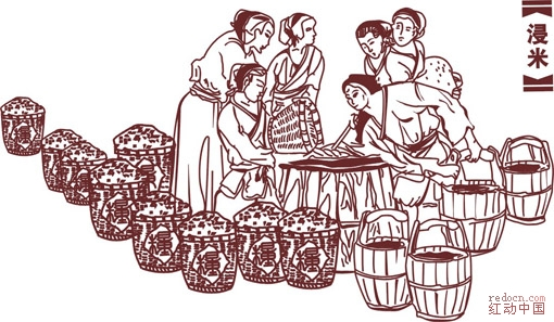 古代酿酒流程图片大全