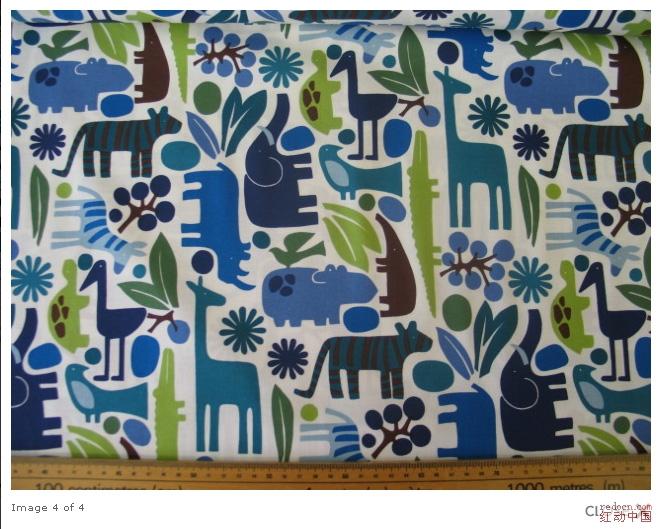 03 2d zoo blue,平面抽象动物图求矢量!
