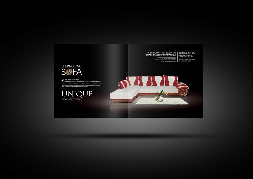 家具画册设计_画册_平面_原创设计 第一设计网 - 红动