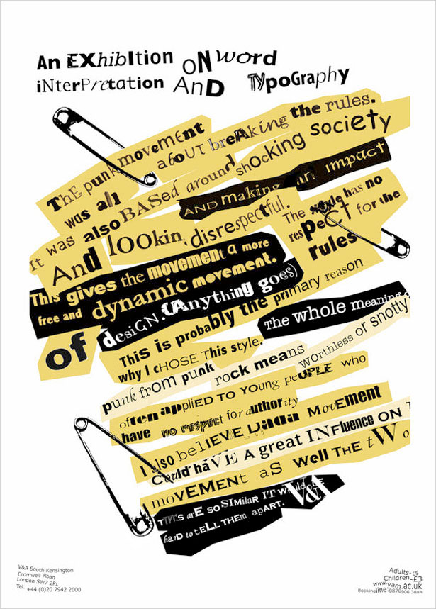 创新海报文字排版