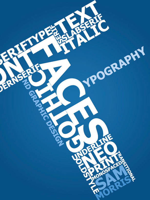 创新海报文字排版_宣传单|折页_平面_佳作欣赏 专业网
