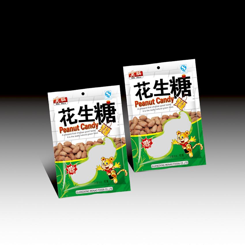 食品零食花生糖包装袋设计