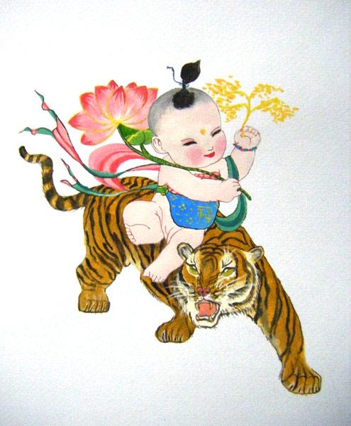 babi on tiger.jpg