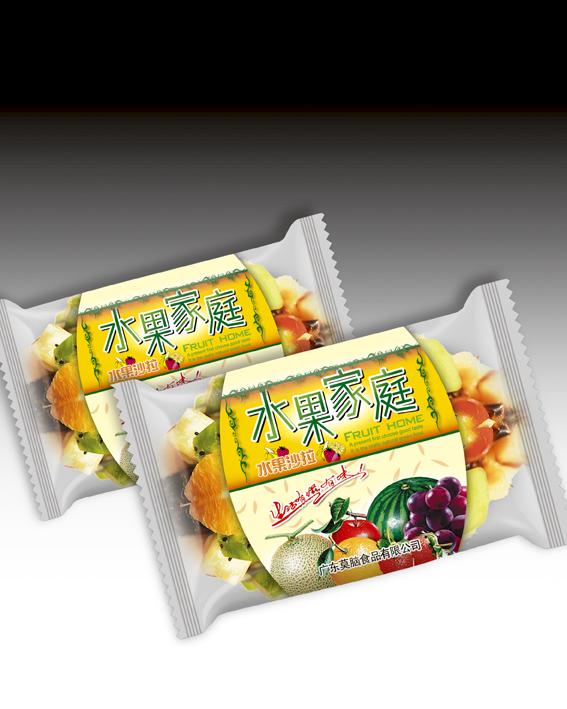 水果沙拉零食包装袋设计