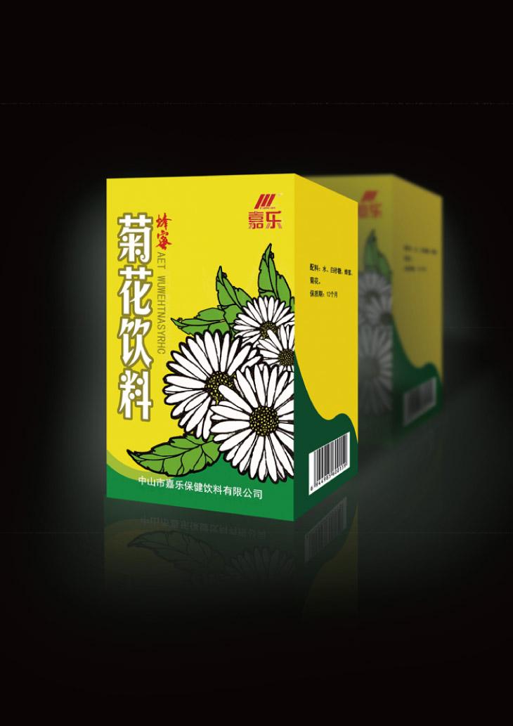 菊花饮料药品零食综合包装设计