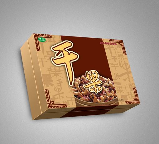 水果干果礼盒食品果蔬包装设计