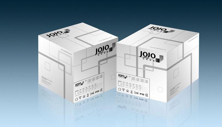 嵌入式灯具电器产品包装盒设计更新