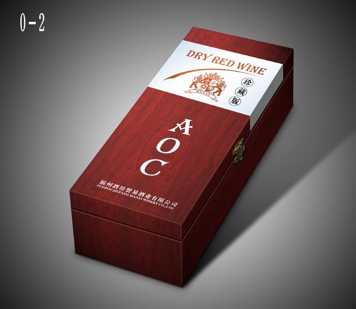 冰白葡萄酒标签aoc白酒包装盒设计