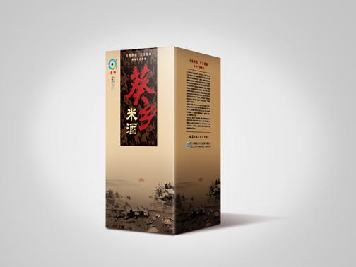 米粉米酒电池胶水大米包装设计