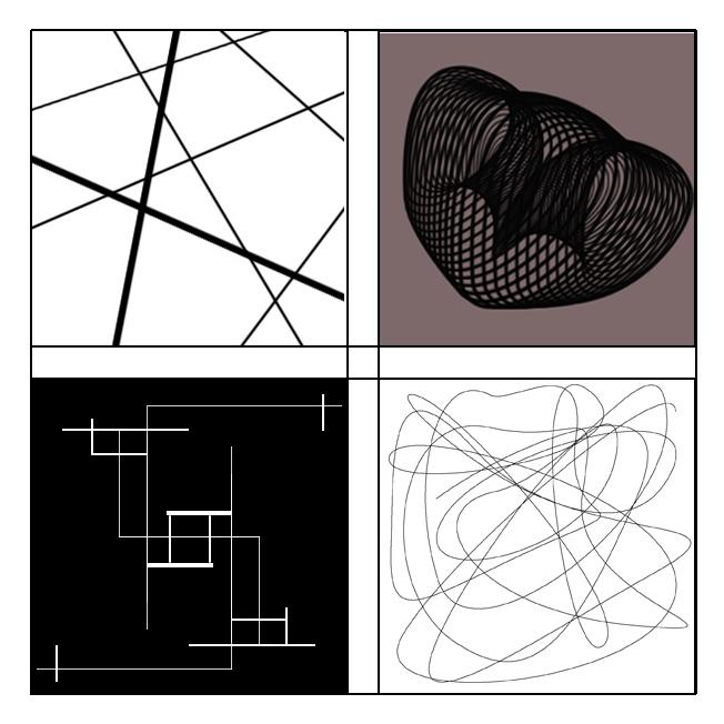 线的构成_其他广告_平面_原创设计 专业设计网 - 红动