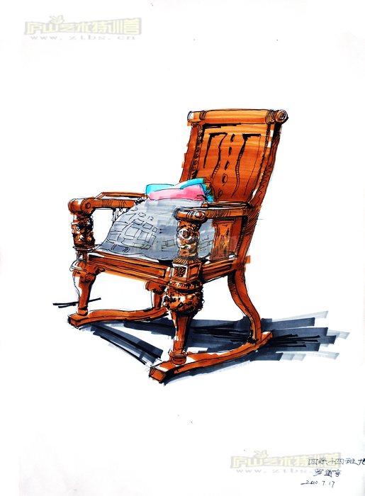 03 马克笔手绘室内作品