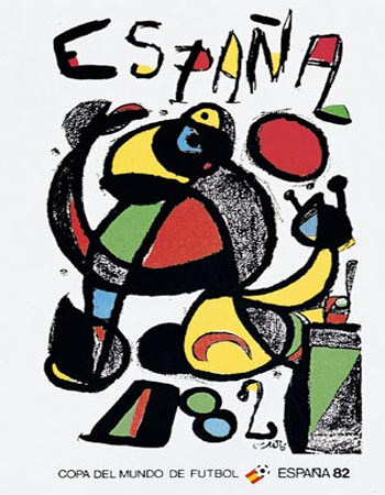 1930-2006世界杯的海报