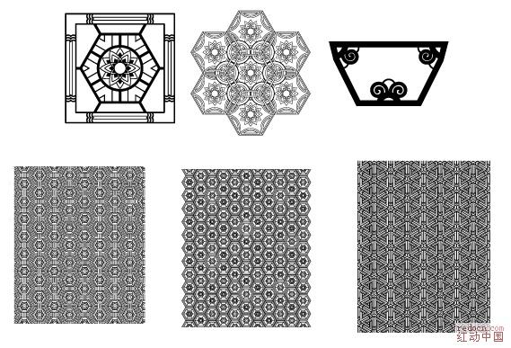 韩国矢量传统图案,有单一, 有组合 图案底纹 老的分类 免费矢量 下载区 设计图片 红动设计 全球人气最旺的设计论坛