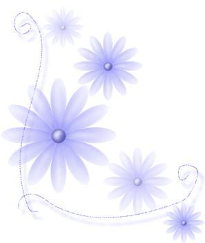 白底简单可爱壁纸花