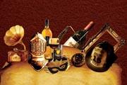 图片标题:欧式地产广告元素/头盔/留声机/红酒/面具/洋酒/镜框 关键字:设计图片  加入时间:2008-7-9 15:49 加入作者:阿Q第二