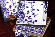 图片标题:中秋包装 关键字:青花 月饼盒设计 效果图  加入时间:2008-7-12 07:39 加入作者:redocn